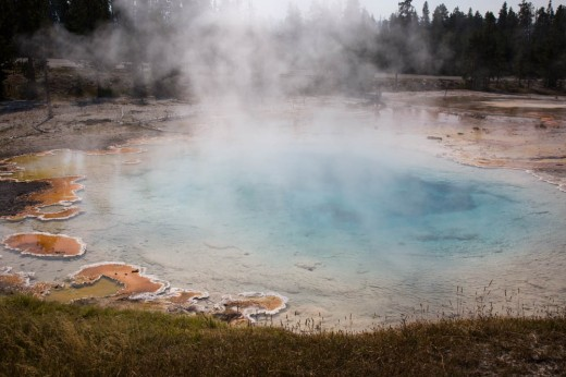 Upper Geysir Basin, Yellowstone National Park