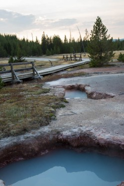 Artists' Paintpots, Yellowstone National Park