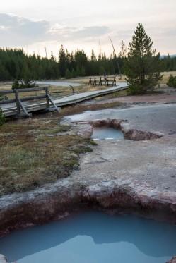 Artists' Paintpots, Yellowstone National Park